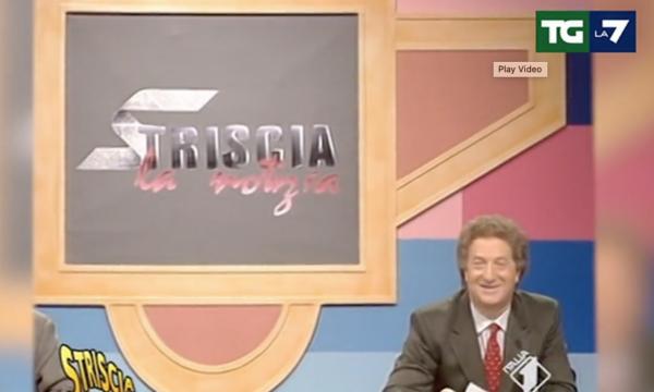 """TgLa7: il ricordo di D'Angelo diventa predica sull'""""epoca del riflusso"""". Peccato che Cairo ne sia il simbolo"""