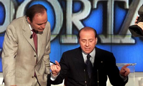 """Anzaldi a Crespi: """"Berlusconi vinse grazie alla Tv"""". E Vespa e lo spin doctor del Cav lo confermano"""