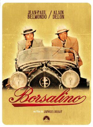 Borsalino con Jean-Paul Belmondo e Alain Delon, regia di Jacques Deray