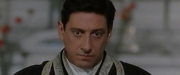 Sergio Castellitto in una scena di Don Milani - Il priore di Barbania su Tv 2000