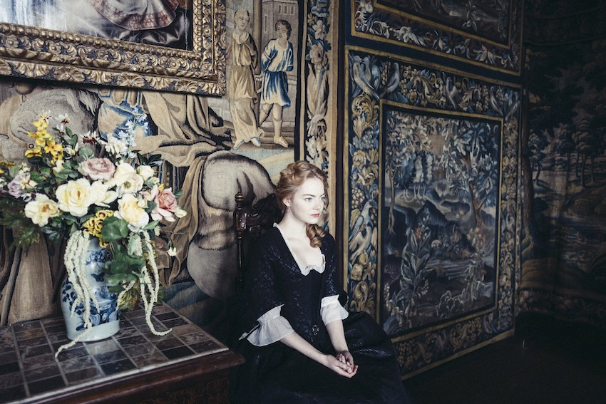 Emma Stone in La favorita