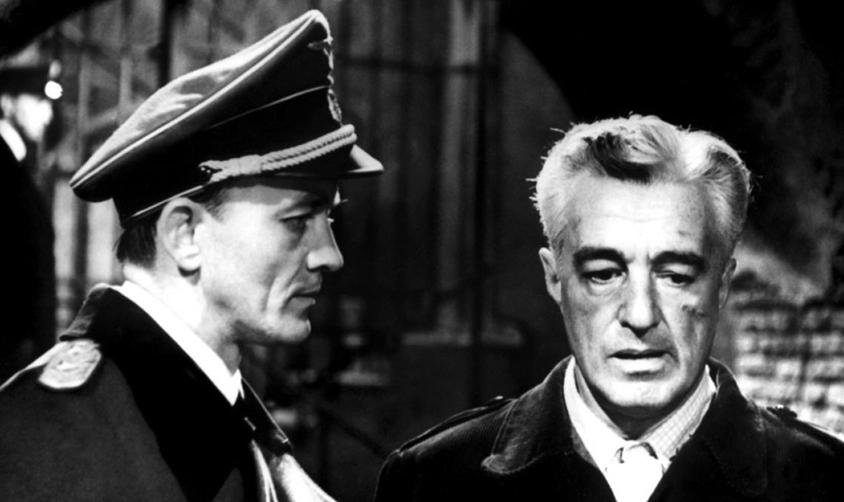 Film Tv 9 settembre Vittorio De Sica ne Il generale Della Rovere di Roberto Rossellini