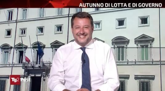 Rai, Salvini a Tg2 Post viola par condicio. Anzaldi pronto a firmare esposto