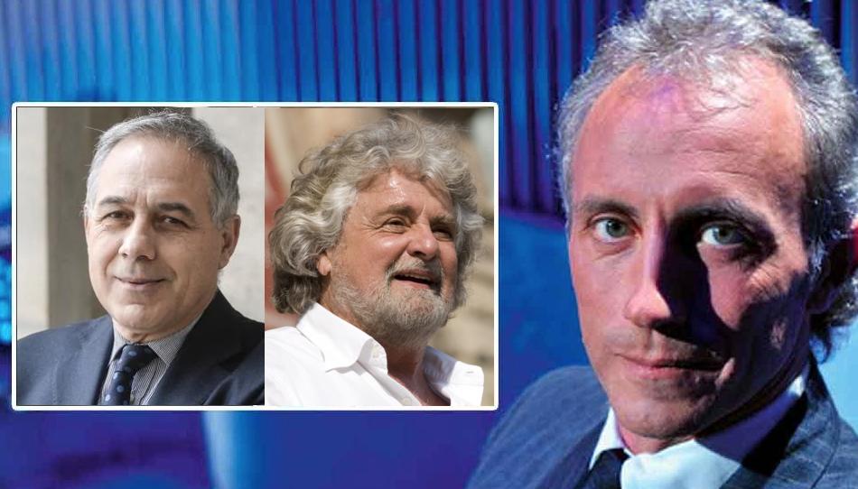 Fatto Quotidiano giornalismo libero Marco Travaglio Beppe Grillo M5s