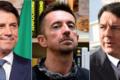 """""""Morte a Renzi"""" al comizio Conte-Scanzi (che tacciono). Critiche dal mondo politico"""