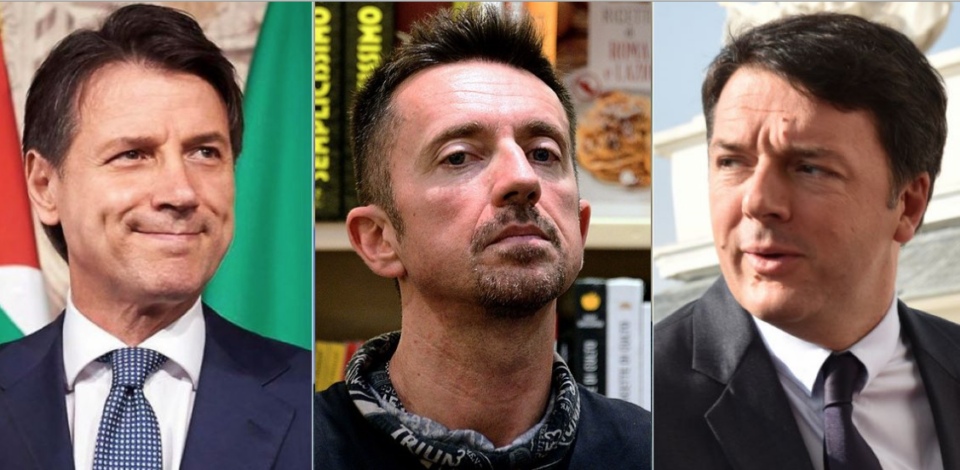 Minacce di morte a Renzi Conte Scanzi comizio Montevarchi M5s