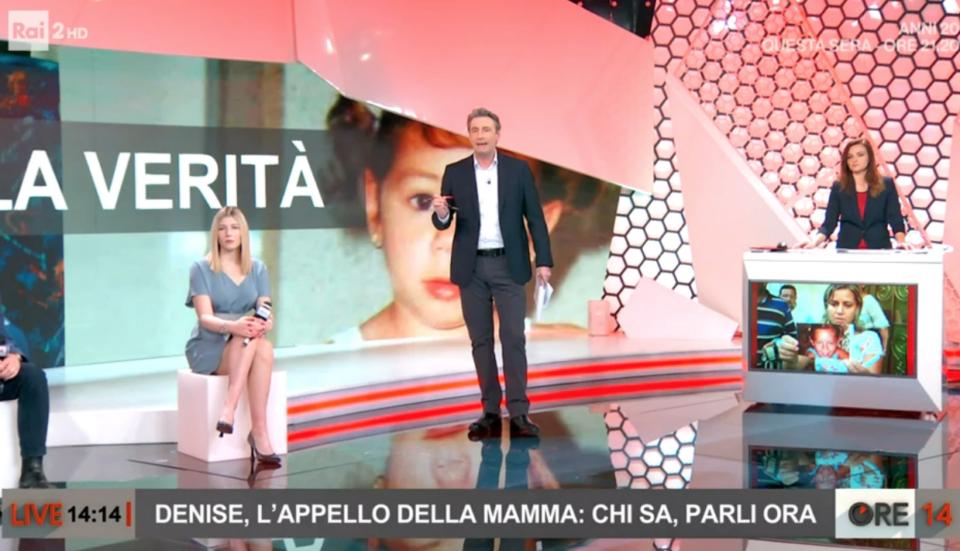 Ore14 Rai2 Denise Pipitone Ascolti TV
