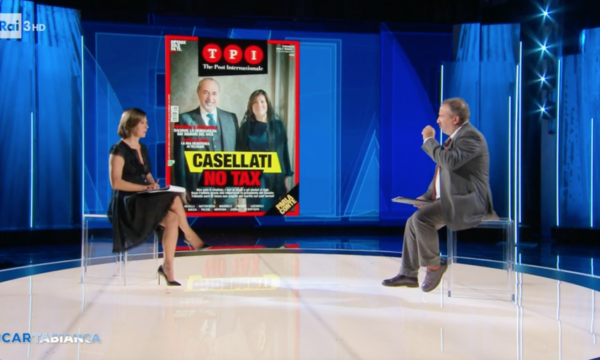 """Rai3: Berlinguer, il cognato e lo spot a T.P.I. e al """"fenomeno"""" Conte"""