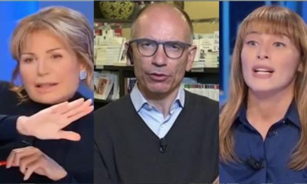 Ascolti Tv, Boschi su Rete4 fa più audience di Letta dalla Gruber