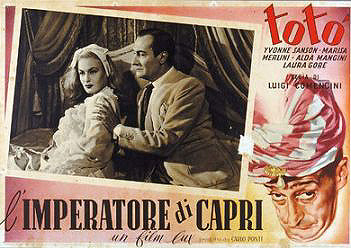 Totò ne L'imperatore di Capri su Rai Movie