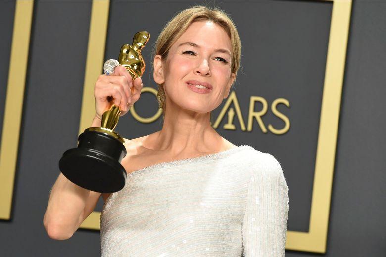 Renèe Zellweger vincitrice d'Oscar quale migliore attrice non protagonista per Ritorno a Cold Mountain
