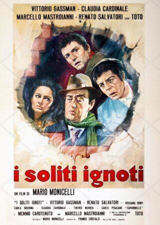 I soliti ignoti - la locandina (© ivid.it)