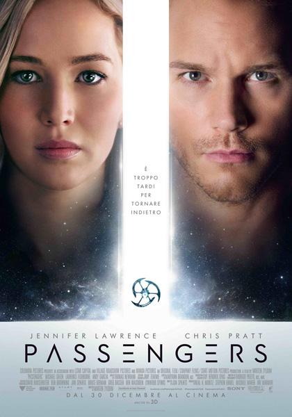 """Film Tv 7 ottobre. Passengers: metafora """"ultracosmica"""" del matrimonio La recensione del film su VigilanzaTv"""