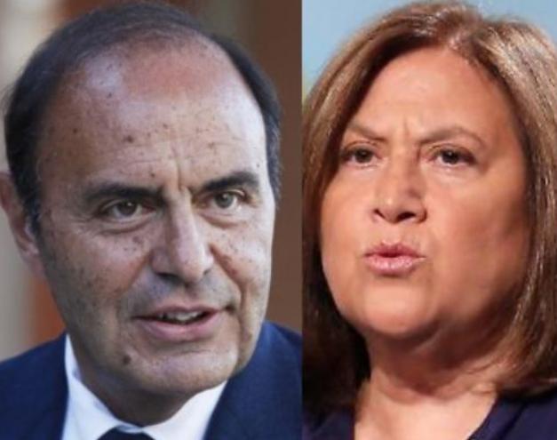Bruno Vespa Lucia Annunziata Rai Scoglio 24 Pinuccio Striscia la Notizia